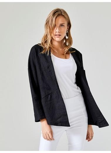 Xint Mevsimlik Ceket Siyah
